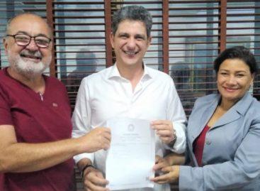 Sindicato dos Radialistas de Sergipe visita o Senador Rogério Carvalho