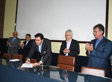 Laércio prestigia posse de Brenno Barreto como presidente do SergipeTec