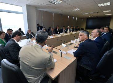 Fábio Reis participa de reunião com ministro da Infraestrutura em Brasília
