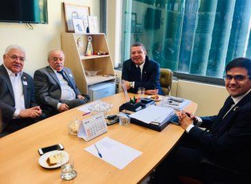 Luciano Bispo sai satisfeito de reunião sobre obra da BR 101