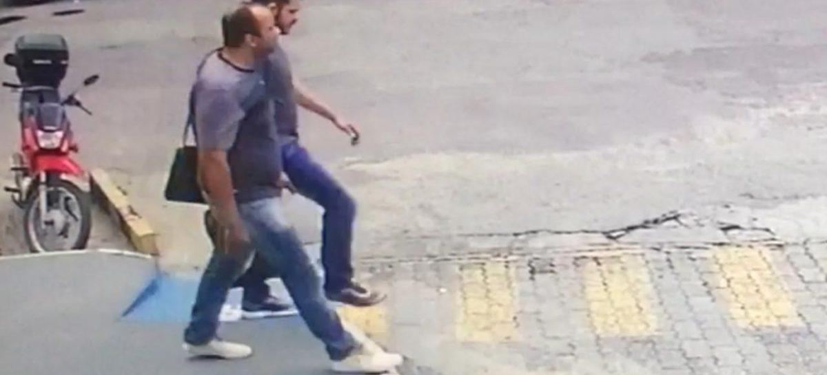 Polícia civil divulga imagem do assalto ocorrido em posto de combustíveis