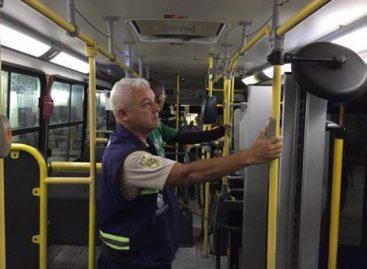 SMTT dá sequência à fiscalização dos veículos do transporte na Viação Atalaia