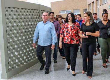 Ministra da Mulher visita instalações do Centro Especializado de Reabilitação