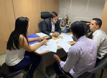 Peritos de Sergipe se reúnem com deputado Talysson de Valmir