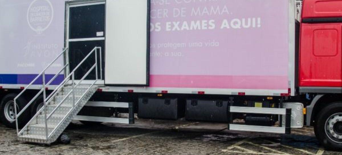 Carretas da Mulher realizam mamografia no CAISM sem agendamento até sexta-feira, 10