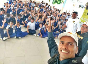 Polícia Militar intensifica ações de educação para o trânsito durante o Maio Amarelo