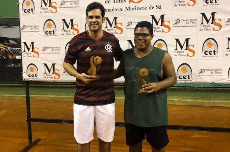Caio Natividade fatura medalha de Prata no MS Open de Tênis