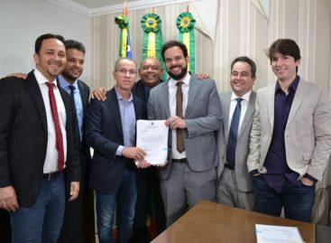 Câmara recebe LDO da Prefeitura de Aracaju para ser apreciada