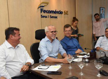 Prefeito se reúne com empresários para discutir fortalecimento do comércio no Centro de Aracaju