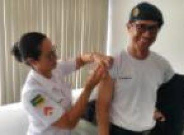 Polícia Militar inicia vacinação do efetivo contra a gripe Influenza
