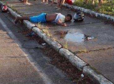 Homem é baleado ao tentar assaltar policial militar à paisana