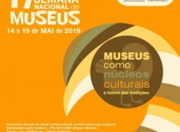 Prefeitura recebe a 17ª Semana Nacional de Museus no Centro Cultural