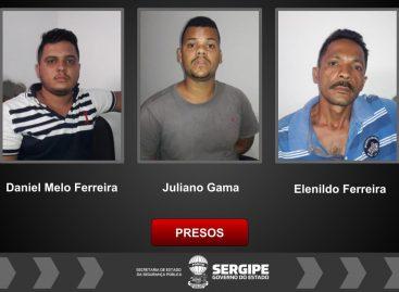Polícia Civil prende três homens por receptação e adulteração de veículos