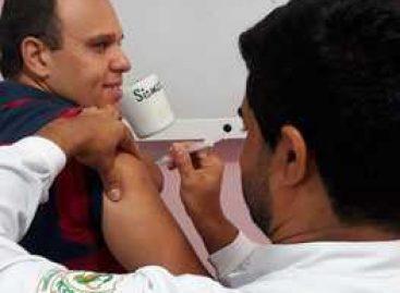 Profissionais da MNSL recebem vacina contra Influenza e Tríplice Bacteriana