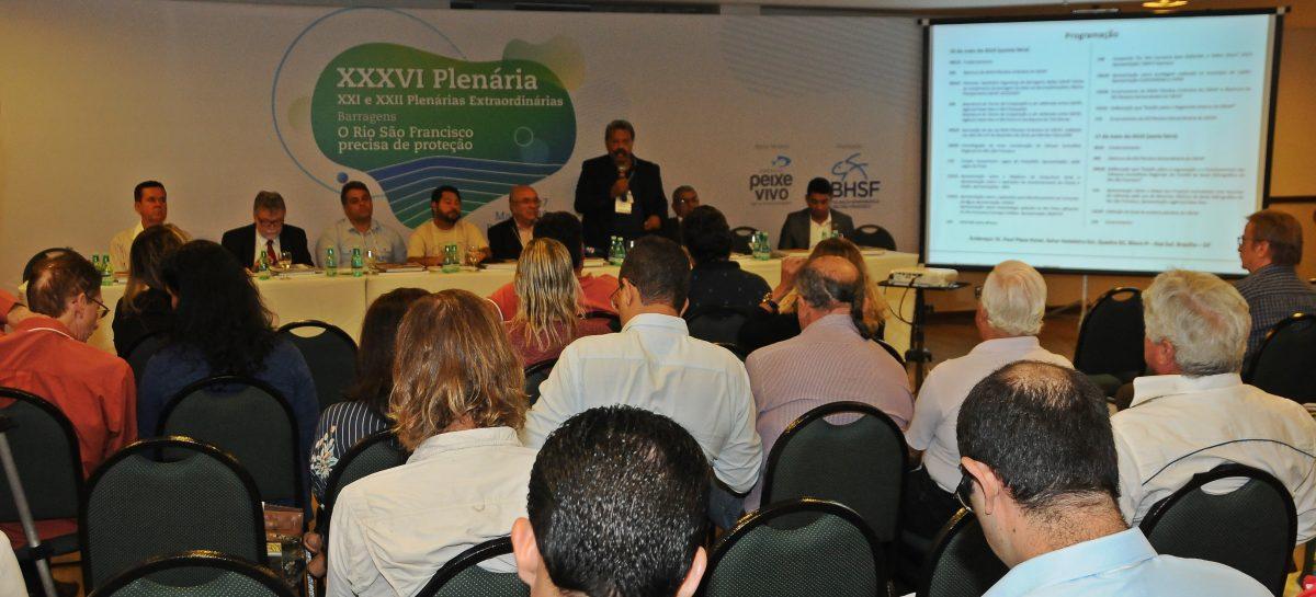 Codevasf participa de plenária do Comitê Bacia  do Rio São Francisco