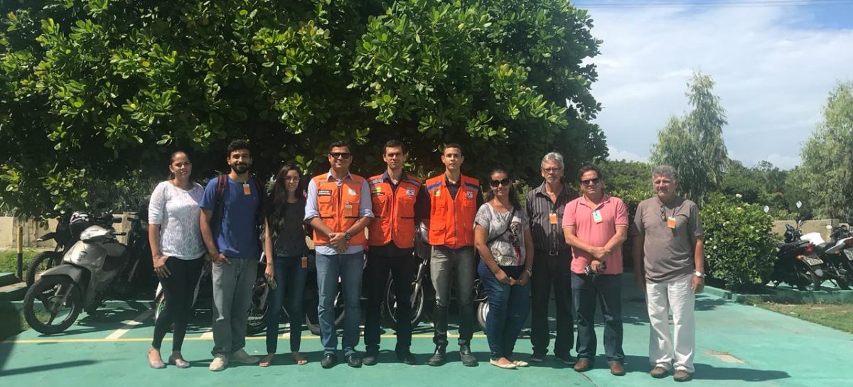 Participantes do curso de formação para o Nudec Pec realizam visitam a Petrobras