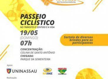 Secretaria de Estado da Saúde realizará Passeio Ciclístico neste domingo, 19