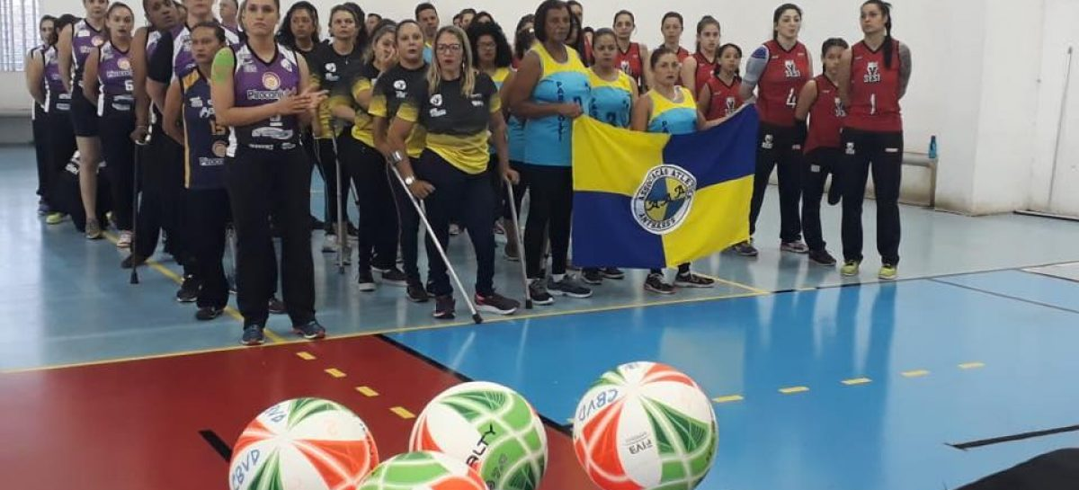 Anápolis sediará 1ª etapa do Campeonato de Voleibol Sentado Feminino
