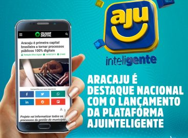 AjuInteligente é destaque em sites de São Paulo e Rondônia