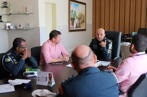 Comando Geral da PM recebe visita do diretor-presidente do Detran/SE