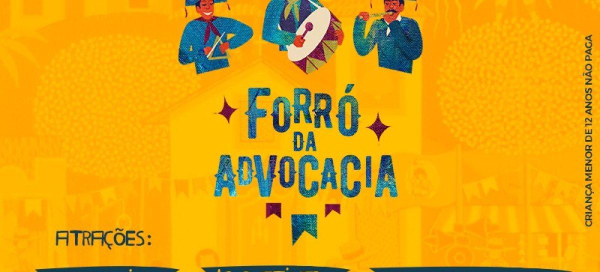 'Forró da Advocacia' traz Emerson do Acordeon, Igor Ativado e Jeanny Lins