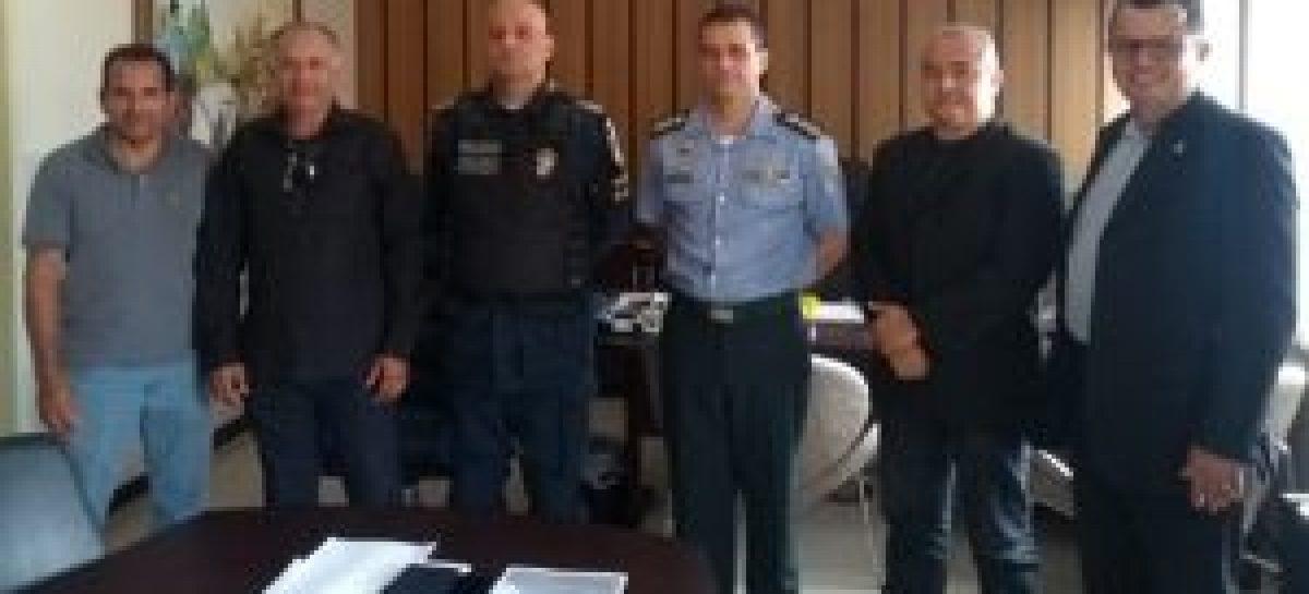 Comando participa de reunião com Associação de Oficiais Superiores