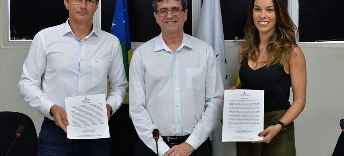 Governo empossa superintendente executivo e superintendente especial de Esportes da Seduc