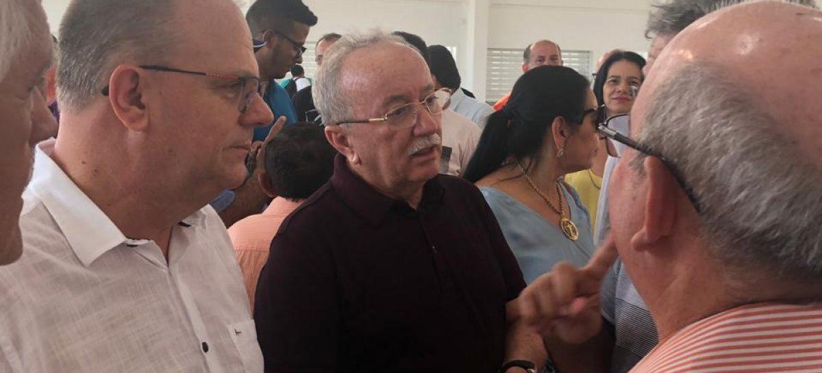 Belivaldo Chagas visita a obra do Ceasa do município de Itabaiana