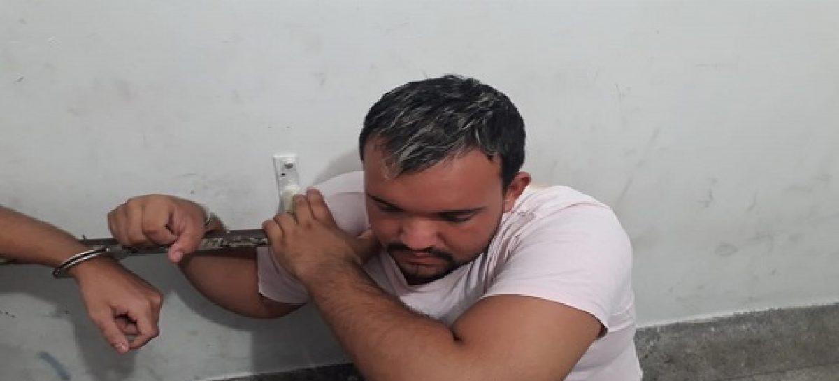 PM à paisana evita assalto e prende dupla na Francisco Porto