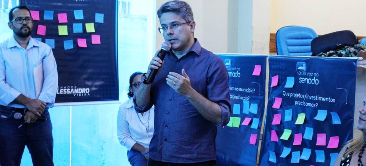 Alessandro Vieira promove eventos em Lagarto e Estância