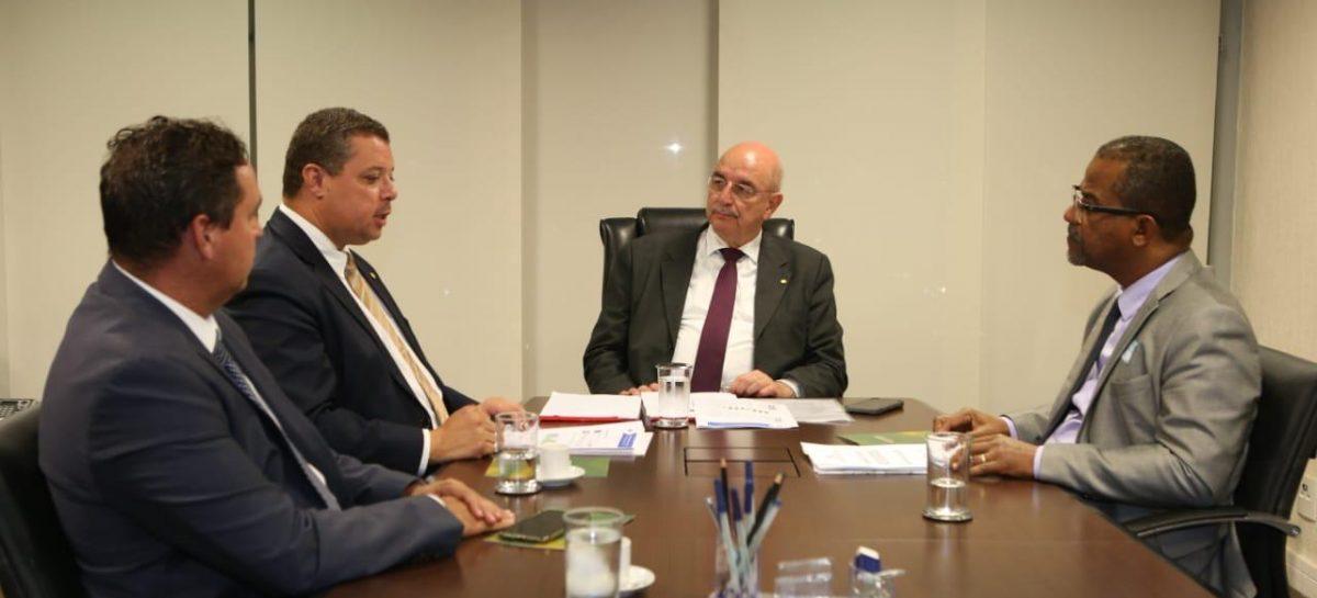 Ministro da Cidadania recebe secretários municipais da Assistência e da Juventude e Esporte