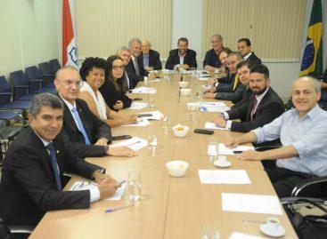 Fábio Henrique discute reforma da previdência com Carlos Lupi e membros do PDT