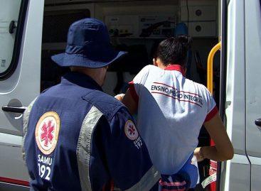 18 estudantes passam mal e são socorridos pelo Samu em escola de Aracaju