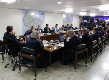 Alessandro Vieira participa de reunião no Palácio do Planalto
