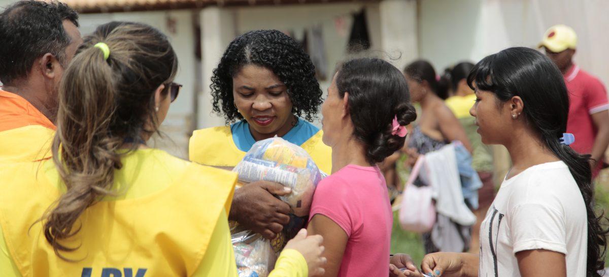 LBV promove ação emergencial em apoio a famílias em situação de vulnerabilidade