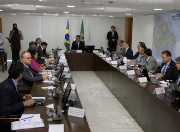 Em Brasília, Belivaldo e demais governadores se reúnem com Bolsonaro