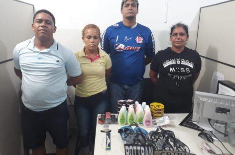 CPTRAN prende suspeitos por furto em Aracaju e na Barra dos Coqueiros
