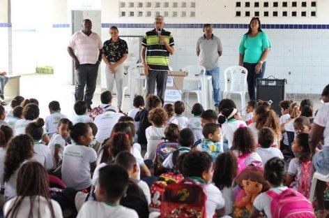 Ciclo de Palestras realça importância da destinação correta do lixo e prepara estudantes