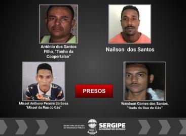 PC cumpre 10 mandados de prisão em Propriá contra organização criminosa