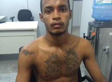 CPTRAN prende suspeito de roubo a taxista no bairro Siqueira Campos