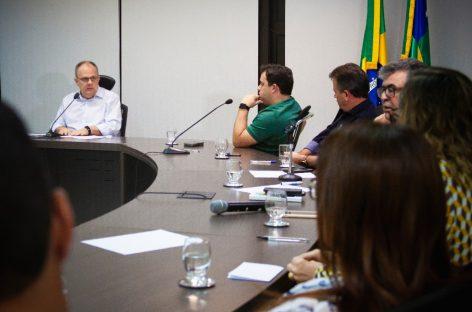 Projeto PlanificaSUS é apresentado ao governador Belivaldo Chagas
