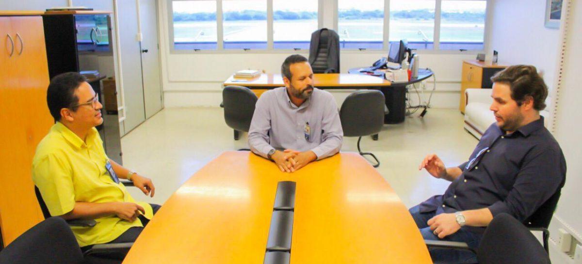Setur e Infraero discutem sobre a atual situação do aeroporto Santa Maria