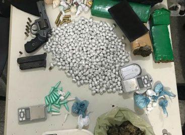 Polícia Militar prende homem com mais de 100 pedras de crack em Socorro