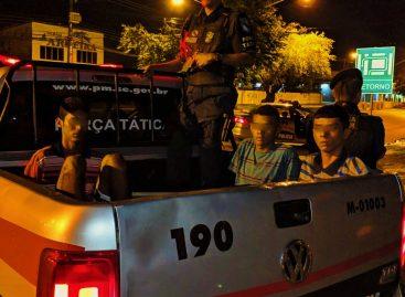 PM evita assalto a ônibus e prende três indivíduos no São Conrado