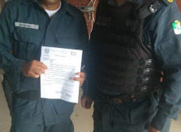 Aspra notifica comandante do CPMI acerca da situação precária do Cisp de Canhoba