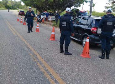 CPTran reforça policiamento de trânsito durante feriado de São João