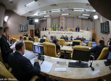 Câmara municipal de Aracaju aprova seis proposituras nesta terça