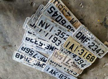 Placas de veículos perdidas podem ser resgatadas na SMTT