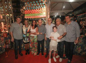 Belivaldo participa da abertura do 12º Arraiá do Povo