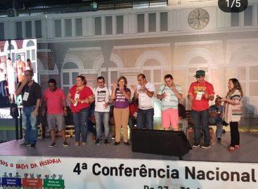 Sindicalistas de Sergipe na 4ª Conferência Nacional de Formação da CUT
